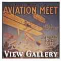 1910 Aviation Meet Poster